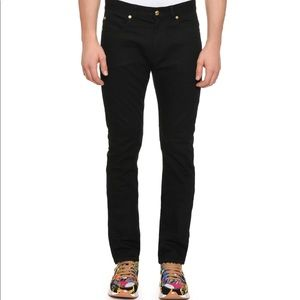 Versace Trend Fit Black Blue Denim 32